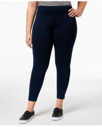 Lyssé - Women's Plus Size Tight Ankle Denim Leggings - Lyst