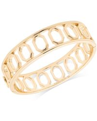 Ivanka Trump - Geometric Open Bangle Bracelet - Lyst