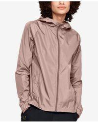 Under Armour - Storm Iridescent Woven Jacket - Lyst