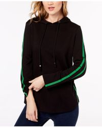 INC International Concepts - Racer-stripe French Terry Hoodie, Created For Macy's - Lyst