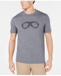 Michael Kors - Neon Aviator Graphic T-shirt, Created For Macy's - Lyst