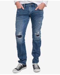 Silver Jeans Co. | Men's Allan Slim Straight Leg Jeans | Lyst