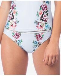 Lucky Brand - Zen Garden Bikini Bottoms - Lyst