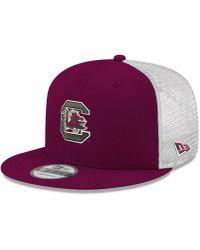Lyst - KTZ Carolina Panthers Team Stripe Bucket Hat in Blue for Men d66154a4a