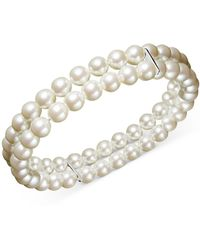 Charter Club - Two Row Simulated Pearl (6 Mm) - Lyst