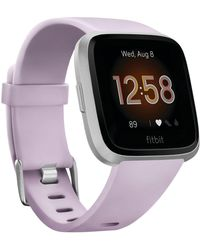 Fitbit - Versa Lite Lilac Strap Smart Watch 39mm - Lyst