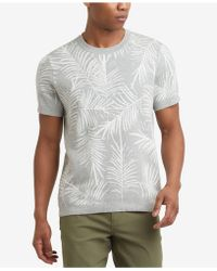 Kenneth Cole Reaction - Palm Jacquard T-shirt - Lyst
