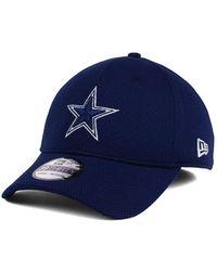 buy popular 07190 56efe KTZ Dallas Cowboys Basic Fashion 59fifty Fitted Cap in Blue for Men - Lyst