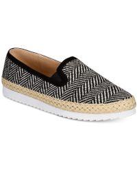Callisto - Tight Line Espadrille Slip-on Sneakers - Lyst