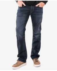 Silver Jeans Co. | Grayson Easy Fit Straight Stretch Jeans | Lyst