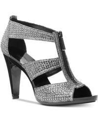 Michael Kors - Michael Berkley T-strap Sandals - Lyst