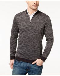 Vince Camuto - Men's Quarter-zip Pullover Jumper - Lyst