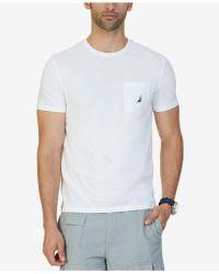 Nautica - Solid Stretch Anchor T-shirt - Lyst