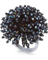 INC International Concepts - I.n.c. Silver-tone Multi-bead Burst Statement Ring, Created For Macy's - Lyst