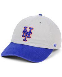 the best attitude d2734 e1bd9 47 Brand New York Mets Twilight Franchise Cap in Gray for Men - Lyst