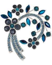 Anne Klein - Stone Arched Cluster Pin, Created For Macy's - Lyst