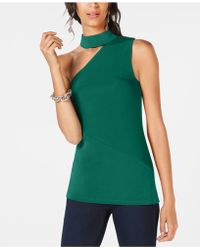 INC International Concepts - I.n.c. One-shoulder Choker Top, Created For Macy's - Lyst