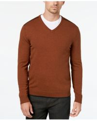 Lyst Ralph Lauren Half Zip Mock Neck Pullover In Yellow For Men