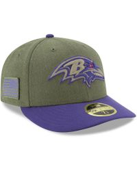 KTZ - Baltimore Ravens Salute To Service Low Profile 59fifty Fitted Cap  2018 - Lyst d77bc2d15
