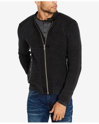 Buffalo David Bitton - Wituckle Regular-fit Full-zip Sweater - Lyst