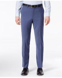DKNY - Slim-fit Stretch Neat Suit Pants - Lyst