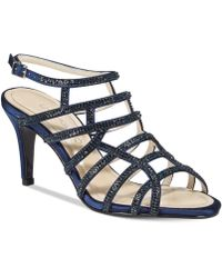 Caparros - Harmonica Caged Evening Sandals - Lyst