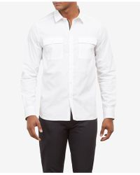 Kenneth Cole - Investment Two-pocket Shirt - Lyst