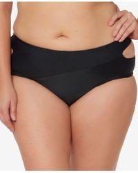 Jessica Simpson - Plus Size Cutout Brief Bottoms - Lyst