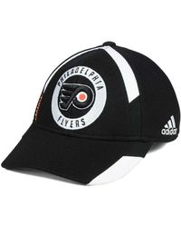 607c1c7e6522f Lyst - adidas Practice Jersey Hook Cap in Black for Men