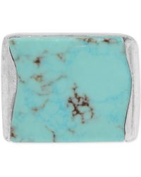 Robert Lee Morris - Silver-tone Blue Stone Ring - Lyst