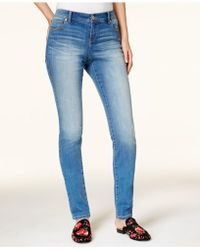 INC International Concepts | Petite Medium Wash Skinny Jeans, Created For Macy's | Lyst