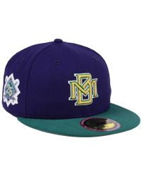 more photos 91305 83f79 KTZ Ultimate Patch Collection 125th Anniversary 59fifty Fitted Cap in Green  for Men - Lyst