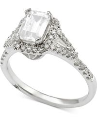 Marchesa - Diamond Engagement Ring (1 Ct. T.w.) In 18k White Gold - Lyst