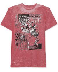 Jem - Men's Spider-man Spidey's Team Up Graphic-print T-shirt - Lyst
