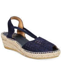 Andre Assous - Corrine Wedge Sandals - Lyst