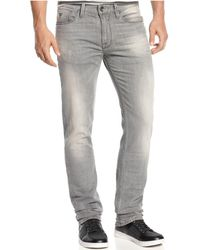 Guess - Slim Straight Lonesome-wash Jeans - Lyst