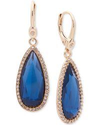 Ivanka Trump - Stone Drop Earrings - Lyst
