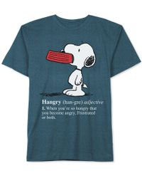 Jem - Hangry Snoopy T-shirt - Lyst