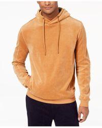 Sean John | Men's Velour Zip-front Hoodie | Lyst