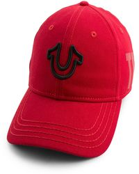 True Religion - 3d Embroidered Horseshoe Cap - Lyst