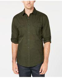 Alfani - Warren Long Sleeve Shirt, Created For Macy's - Lyst