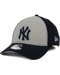 572001e48 KTZ New York Yankees Core Classic 39thirty Cap in Red for Men - Lyst