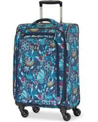 "Atlantic - Infinity Lite 3 Lotus Temple 21"" Expandable Carry-on Spinner Suitcase - Lyst"