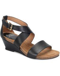 Söfft - Vita Sandal Wedges - Lyst