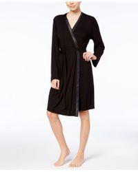 Alfani - Essentials Wrap Robe - Lyst