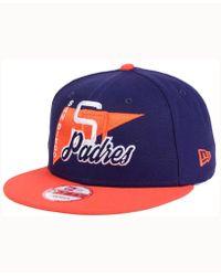KTZ - San Diego Padres Logo Stacker 9fifty Snapback Cap - Lyst