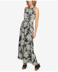 1.STATE - Tie-back Maxi Dress - Lyst