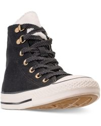 3154b7b2254d Converse - Chuck Taylor All Star Furst Love High Top Casual Sneakers From  Finish Line -