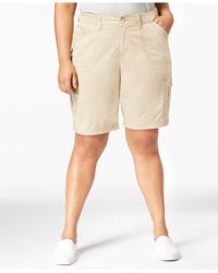 Lee Platinum - Plus Size Cargo Shorts - Lyst