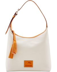 Dooney & Bourke - Patterson Leather Paige Pebble Leather Hobo - Lyst